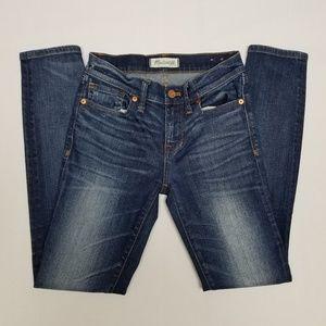 Madewell skinny jeans.